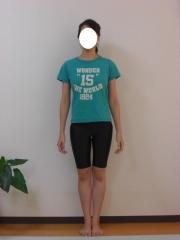 産後のO脚 骨盤矯正 23歳 主婦 2ヶ月後